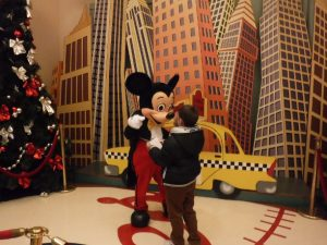 Photpass con Mickey en el hotel New York