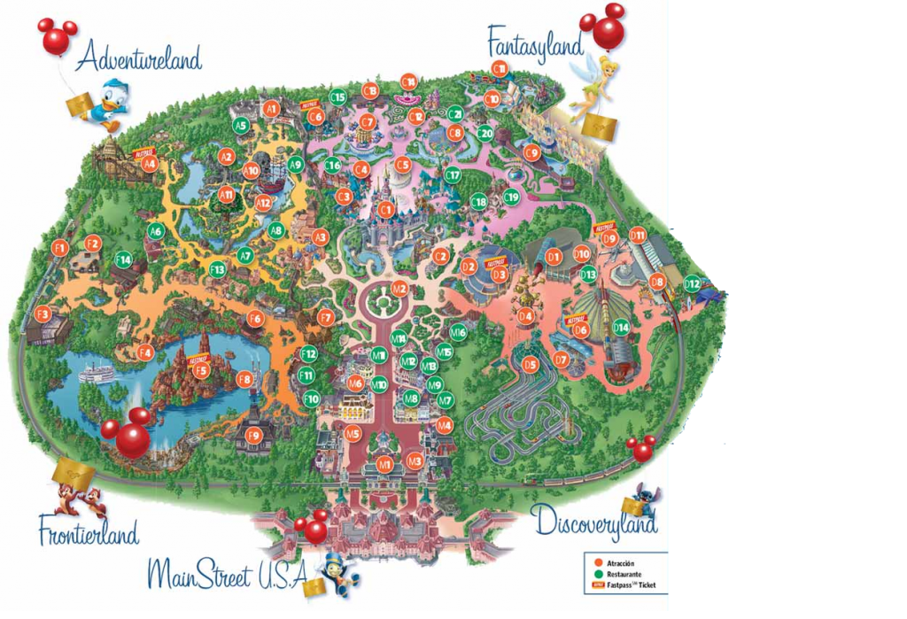 Plano de Disneyland Paris